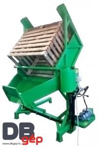 BKF01 Konténerfordító - zöld faládás